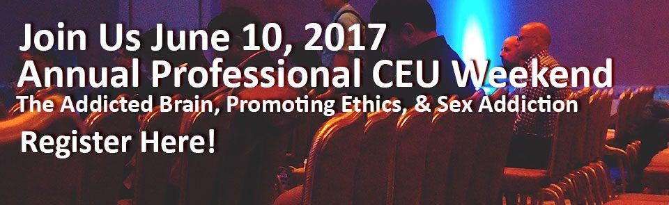 Annual Professional CEU Weekend 2017