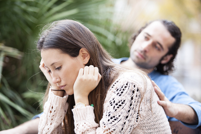 A Dysfunctional Marriage: Addiction and Depression - couple having issues