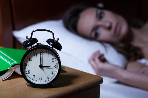 How to Deal with Insomnia During Recovery - woman with insomnia