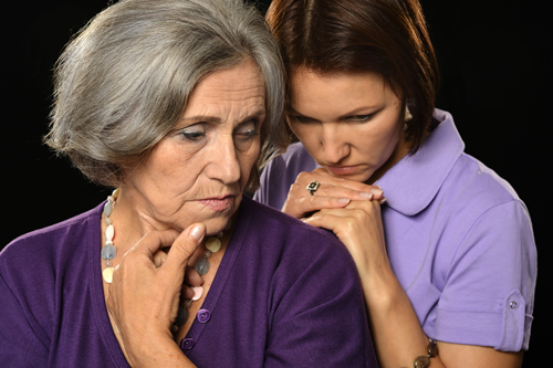 Mom's 'Little Problem': How to Handle Parents with Addiction - mother and concerned daughter