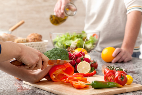 Recovery Takes Guts: Good Nutrition for Addiction Recovery - cooking healthy
