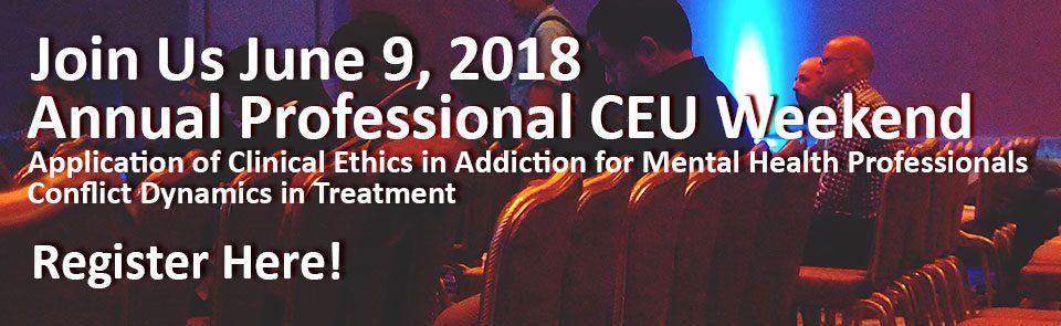 Annual Professional CEU Weekend 2018