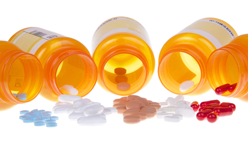 Chronic Illness and Addiction: Is There an Extra Risk? - bottles of pills