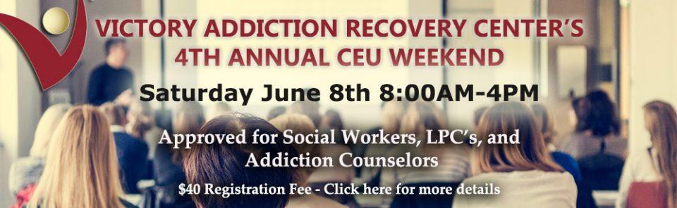 Annual Professional CEU Weekend 2019