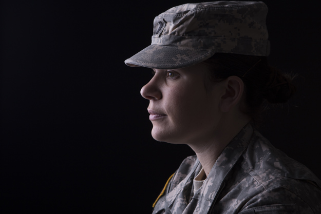 profile of female veteran