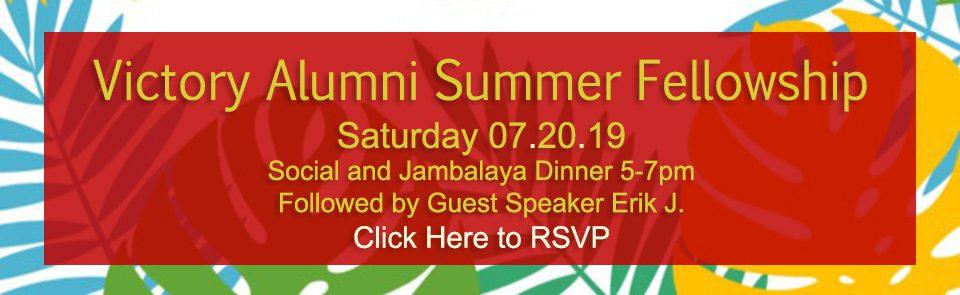 Alumni Fellowship 2019