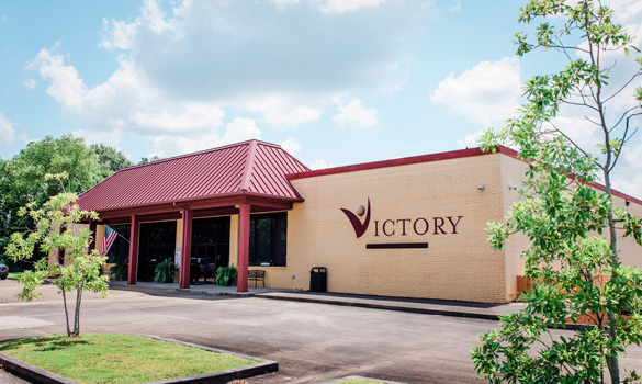 Victory Addiction Recovery Center building - outside view - drug and alcohol treatment in Louisiana