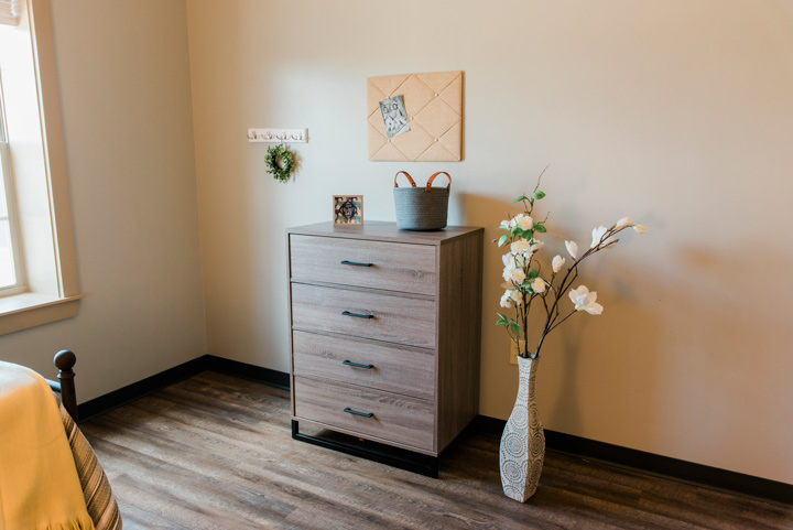 lovely bedroom at Victory Addiction Recovery Center - inpatient program
